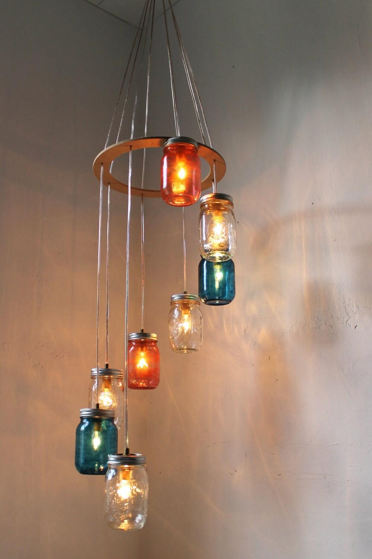 100 mason jar light chandelier rustic mason jar chandelier