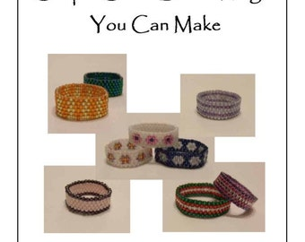 Simple Seed Bead Rings You Can Make - Pattern for Kindle, iPad, Kobo, Nook, Computer, eReader