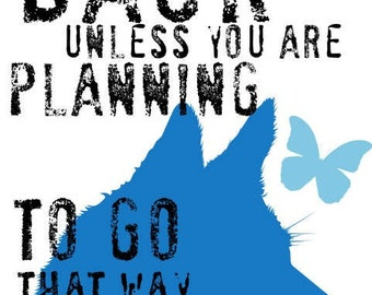 Husky Dog Art Print Wall Art Inspirational Quote Series