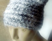 Knitting Pattern Beanie Tutorial Textured Hat Pattern Textured Ears Easy Knit Circular Knitting Sell What You Make PDF File Instant Download