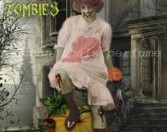 Harvesting Zombies Gothic Victorian Artisan Perfume Oil .33 fl oz