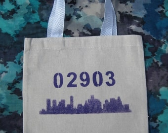 Zip Code Wedding Welcome Bags- City Skyline