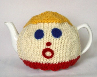 Made to Order - Mr. Bill Tea Cosy- A warm and whimsical sweater for your teapot