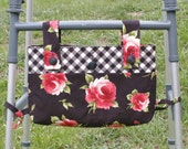 Design Your Own Handmade Quilted Walker or Wheelchair Bag