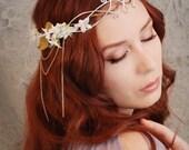 Lothiriel - an ethereal floral headdress