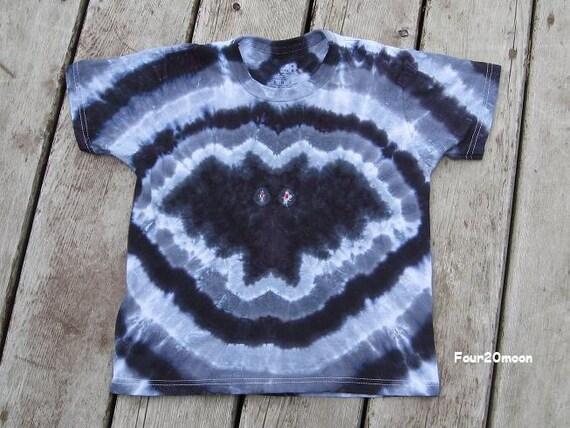 Tie Dye Bat Shirt (Medium) Childrens