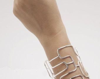Cuff Bracelet - AW Linear Cuff