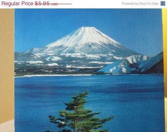 Vintage Postcard - Mt. Fuji - Japan - 1970s original postcard
