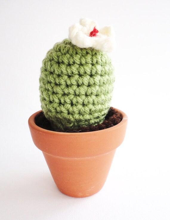 Etsy Amigurumi Cactus : Items similar to Crochet Cactus Amigurumi Plant Notocactus ...