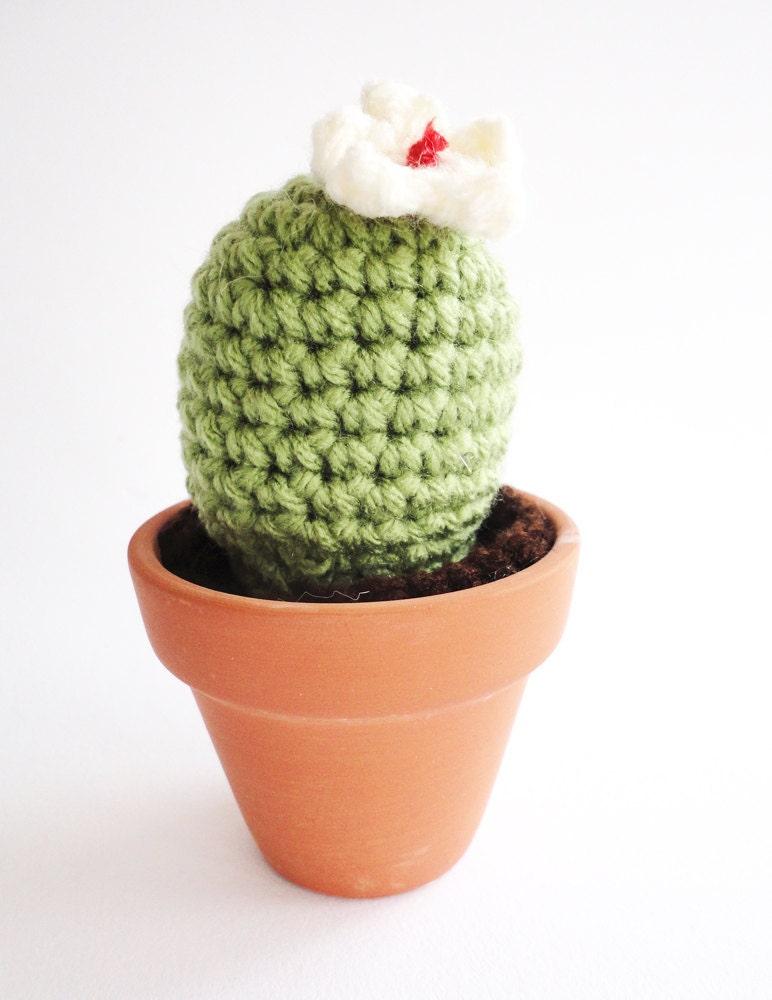 Crochet Cactus Amigurumi Plant Notocactus