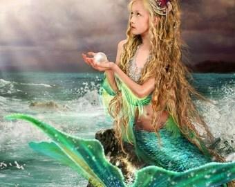 """Mermaid Art """"Marina"""" by Susan Schroder"""