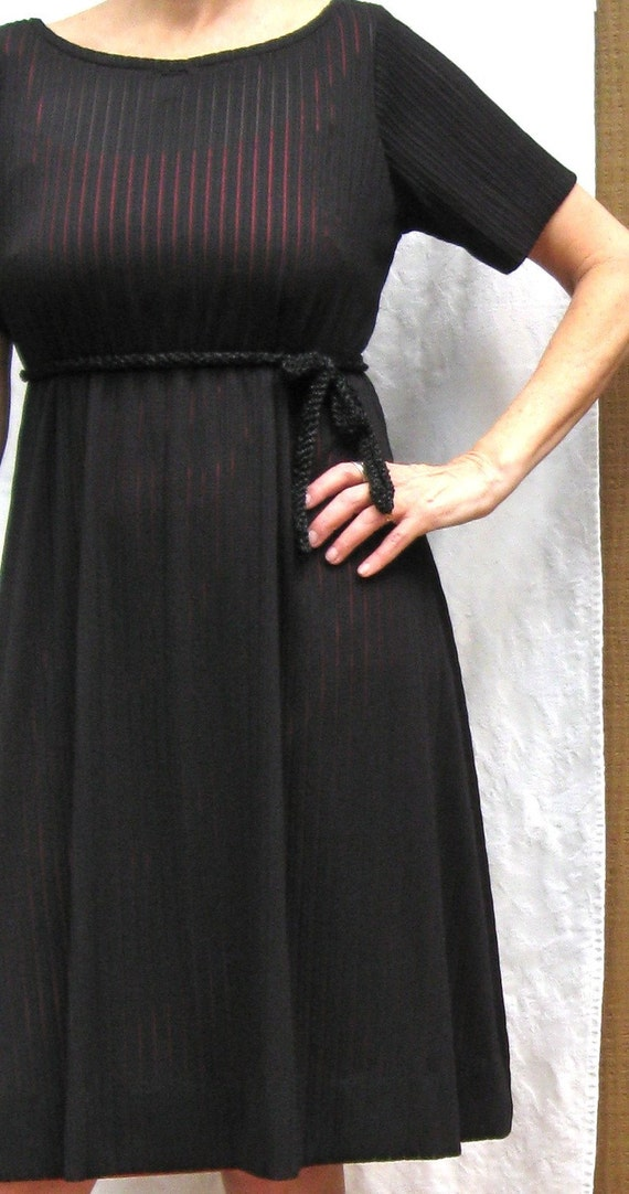 CUSTOM Knit Dress with built in ties