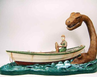 Sea Serpent and Doryman