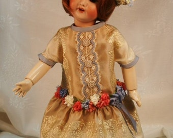Bleuette pattern for doll clothing - Robe de Style1926 and Chapeau de Taffeta 1922, both LSDS
