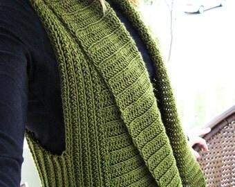 Belinda Vest ~ A Crochet Pattern