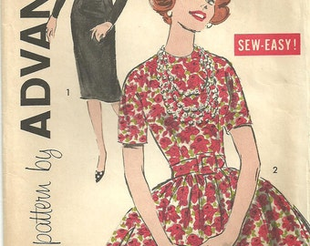 Vintage Sixties Sewing Pattern from Advance 9269 // Dress Size 12