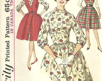 Vintage 60s Sewing Pattern // Simplicity 5107 // Dress // Size 16 Bust 36