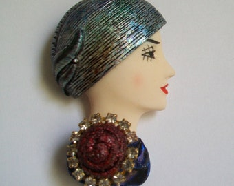 Vintage 80s Brooch - Never Worn