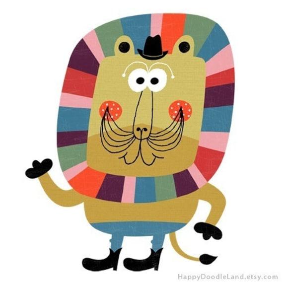 Mr. Lion - Print