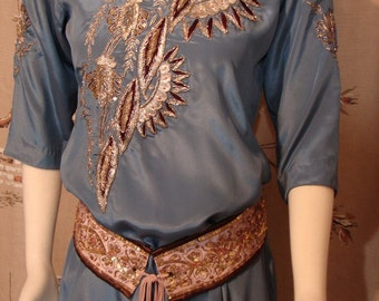 TUNIC - Gorgeous Bohemian Hippie Chic Hand Embroidered