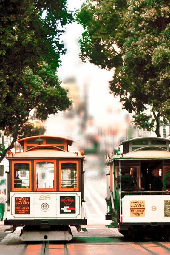 Trolley Cars in San Francisco