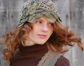 Mori Girl Cloche Hat