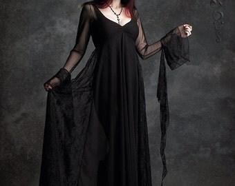 Juliet Tragic Fairy Tale Romantic Gothic Wedding Dress Handmade Bespoke Vampire Dark Fairy - Dark Romantic Couture by Rose Mortem