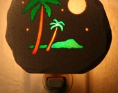 Palm Trees Night Light