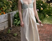 Lizzie Bennet Regency wedding frock