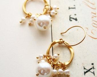 Vintage Pearl Earrings, Pearl Earring, Wedding Jewelry