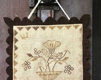 Simple Bounty Cupboard Sampler : Cross Stitch Pattern by Heartstring Samplery