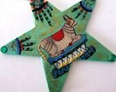 Handmade Nandi  India Shiva Strength Guardian Ornament