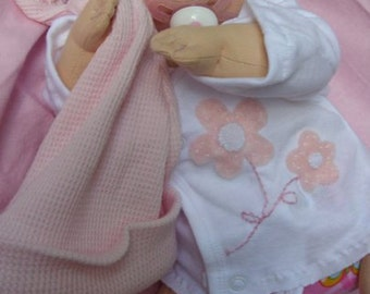 PDF PATTERN - Cloth Baby Doll