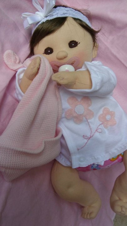 Pdf Pattern Cloth Baby Doll From Lalidolls On Etsy Studio