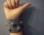 eclectic cuff-cuff bracelet-crochet cuff-mens cuff-womens cuff