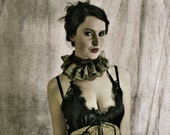 CUSTOM Neo Victorian ... Circus Collar... your choice of fabric and embellishments.
