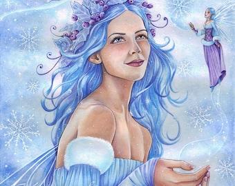 A4 Print - Goddess of the Winter