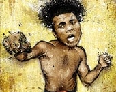 """Muhammad Ali's """"All These Kings"""" - 18x24 Archival Print"""