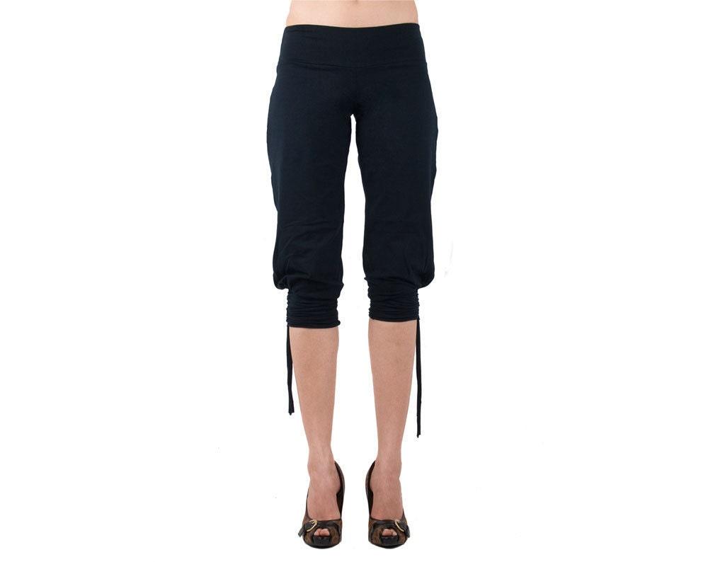 Yoga pants with side cutouts-2096