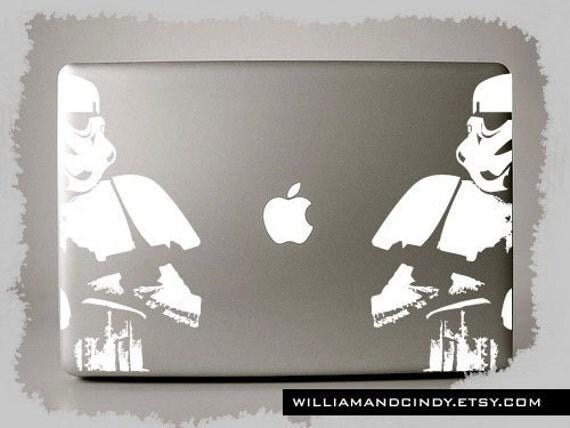 Storm Trooper - Macbook Pro Decal