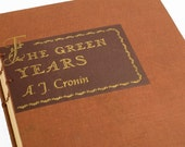 1946 GREEN YEARS Vintage Book Journal Notebook
