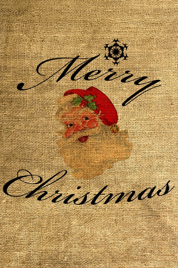 INSTANT DOWNLOAD Merry Christmas - Download and Print - Image Transfer - Digital Sheet by Room29 - Sheet no. 219