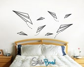 Vinyl Wall Decal Sticker Paper Planes item OSES114A