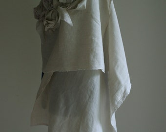 Linen Shawl by NervousWardrobe on Etsy
