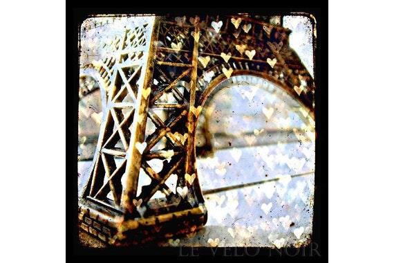 Un petit souvenir de Paris, Unmatted 8x8 TTV-inspired Fine Art Print