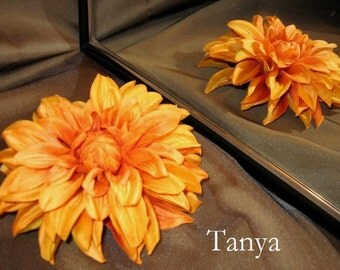 Tribal Fusion ATS Bellydance Floral Hair Clip, Tanya
