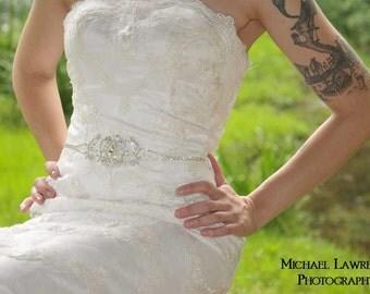 Rhinestone Belt - Bridal Belt - Bridal Sash - Wedding Sash - Wedding Belt - Crystal Sash - Crystal Belt - Rhinestone Sash - Angelina