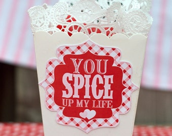 Valentine PRINTABLE Tag 'You Spice Up My Life' by Love The Day