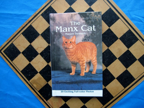 THE MANX CAT Vintage Book 1980s - Reference and Pet Care