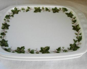 2 VINTAGE IRONSTONE Plates Wiuterling Bavaria
